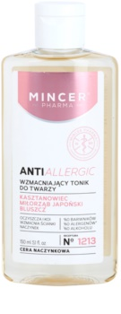 Mincer Pharma AntiAllergic N° 1200 tónico reforçador para a pele sensível com tendência a aparecer com vermelhidão