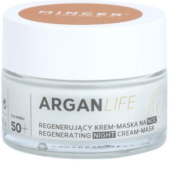Mincer Pharma ArganLife N° 800 50+ Creme/máscara noturna regeneradora