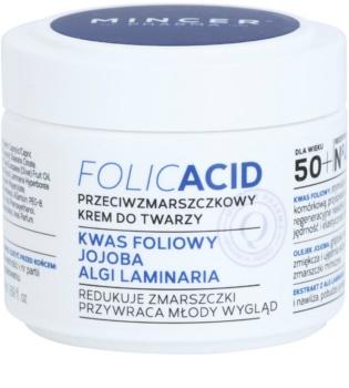 Mincer Pharma Folic Acid N° 450 crema facial antiarrugas 50+
