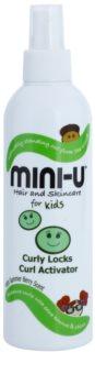 Mini-U Hair and Skincare dětský sprej pro kudrnaté vlasy