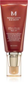 Missha M Perfect Cover BB creme  de alta proteção UV