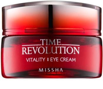 Missha Time Revolution creme de olhos antirrugas