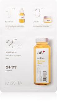 Missha 3-Step подхранваща маска в три стъпки