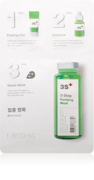 Missha 3-Step почистваща маска в три стъпки