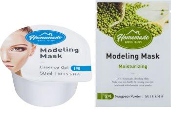Missha Homemade Mungbean Powder mascarilla facial remodeladora con efecto hidratante