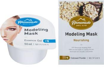 Missha Homemade Oatmeal Powder máscara nutritiva e modeladora com efeito anti-idade