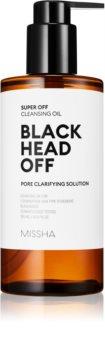 Missha Super Off globinsko čistilno olje proti črnim pikicam