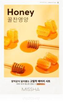 Missha Airy Fit Honey озаряваща платнена маска