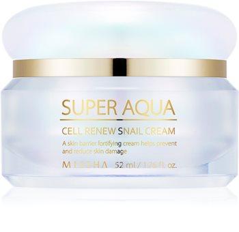 Missha Super Aqua Cell Renew Snail Straffende Gesichtskonturen-Tagescreme mit Schneckenextrakt
