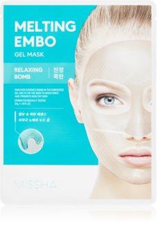 Missha Melting Embo Relaxing Bomb relaxační hydrogelová maska