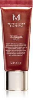 Missha M Perfect Cover crema BB de protección UV muy alta pack pequeño
