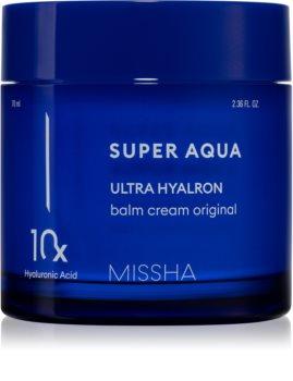 Missha Super Aqua 10 Hyaluronic Acid feuchtigkeitsspendender Balsam für das Gesicht