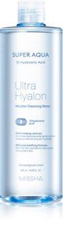 Missha Super Aqua 10 Hyaluronic Acid нежна почистваща мицеларна вода