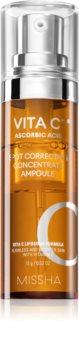 Missha Vita C Plus Vitamin C Brightening Serum  for Pigment Spots Correction