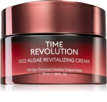 Missha Time Revolution Red Algae Revitalizing And Regenerating Day Cream With Seaweed Extracts