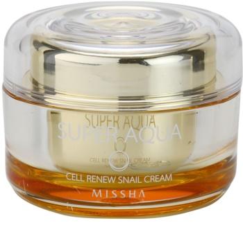 Missha Super Aqua Cell Renew Snail hranilna krema s polžjim ekstraktom