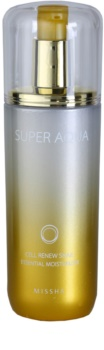 Missha Super Aqua Cell Renew Snail essência hidratante contra rugas e manchas escuras