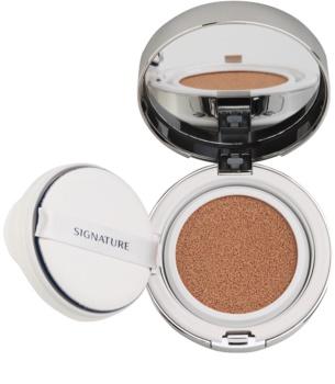 Missha Signature Essence Cushion maquillaje iluminador líquido en esponja SPF 50+