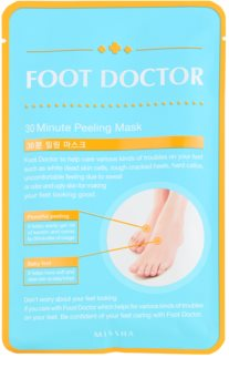Missha Foot Doctor máscara exfoliante intensa para pernas