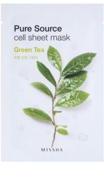 Missha Pure Source máscara em folha com efeito calmante