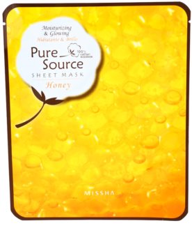 Missha Pure Source hydratační maska s medem