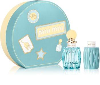 Miu Miu L'Eau Bleue dárková sada I. pro ženy