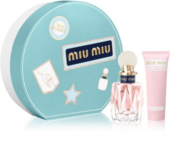 Miu Miu L'Eau Rosée set cadou I. pentru femei