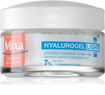 MIXA Hyalurogel Light crema de fata hidratanta cu acid hialuronic
