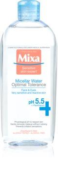 MIXA Optimal Tolerance micellás víz az arcbőr megnyugtatására