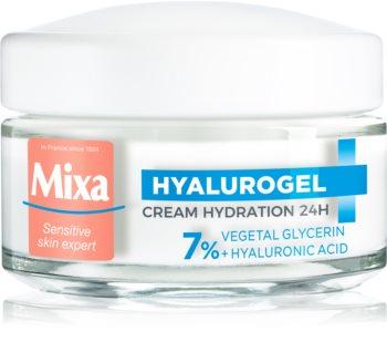 MIXA Hyalurogel Light krem nawilżający do twarzy z kwasem hialuronowym