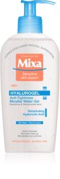 MIXA Hyalurogel gel micellare per pelli sensibili e molto secche