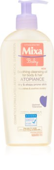 MIXA Atopiance Lindrende renseolie til hår og hud med tendens til atopi