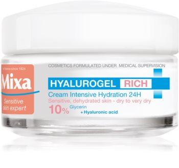 MIXA Hyalurogel Rich crème de jour hydratante intense à l'acide hyaluronique