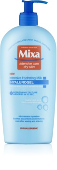 MIXA Hyalurogel lait corporel hydratant intense pour peaux sèches et sensibles