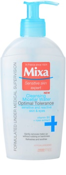 MIXA 24 HR Moisturising água micelar de limpeza