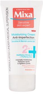 MIXA Anti-Imperfection Moisturizing Care to Treat Skin Imperfections