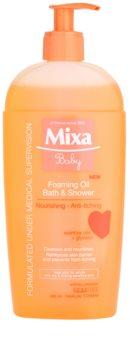 MIXA Baby αφρώδες λάδι για ντους και μπάνιο