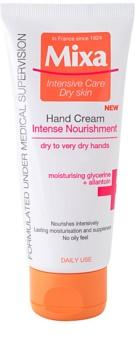 MIXA Intense Nourishment creme de mãos para pele extra seca