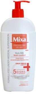 MIXA Multi-Comfort frissítő testápoló tej az érzékeny bőrre