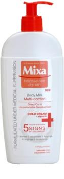 MIXA Multi-Comfort lait rafraîchissant corps pour peaux sensibles