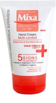 MIXA Multi-Comfort crème nourrissante et hydratante mains
