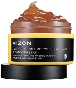 Mizon Enjoy Fresh-On Time posvetlitvena in vlažilna maska z medom za suho kožo