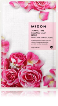 Mizon Joyful Time hydratační plátýnková maska pro stažení pórů