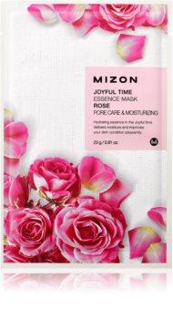 Mizon Joyful Time hydraterende sheet mask voor Porië Minimalisatie