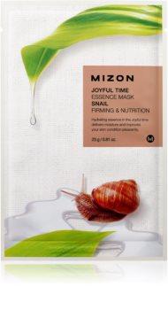 Mizon Joyful Time подхранваща платнена маска със стягащ ефект