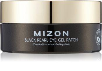 Mizon Black Pearl Eye Gel Patch feuchtigkeitsspendende Gel-Maske für den Augenbereich gegen dunkle Kreise