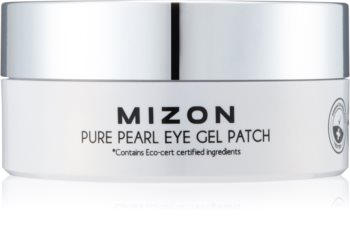 Mizon Pure Pearl Eye Gel Patch Hydrogel Eye Mask to Treat Swelling and Dark Circles
