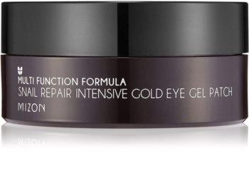 Mizon Multi Function Formula  Snail Maske für die Augen gegen Schwellungen und Augenringe mit Goldpuder