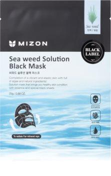Mizon Sea Weed Solution Nährende Tuchmaske zur Festigung der Haut
