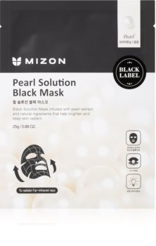 Mizon Pearl Solution Brightening Face Sheet Mask